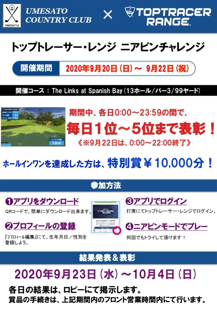 トップトレーサー・レンジ ニアピンチャレンジ